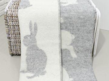 """Дизайнерское шерстяное одеяло """"Роджер Грэй"""""""