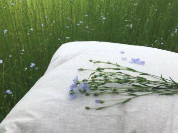 """Подушка льняная """"Home Linen"""" 50х70 см."""