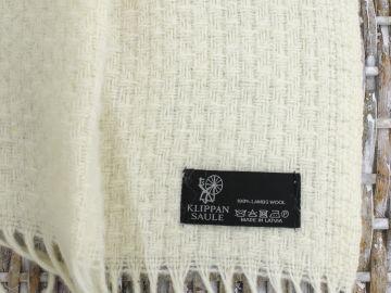 "Плед шерстяной ""Метель"" коллекция Super Soft Merino Wool"