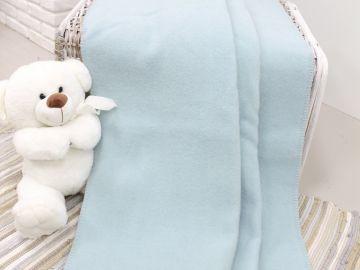 """Детское шерстяное одеяло """"Голубое"""""""